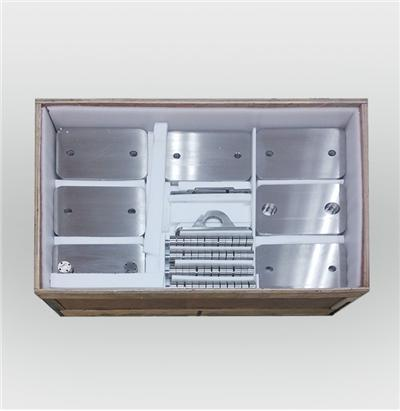 Stainless steel module weight
